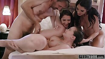 Blue Flame Taboo Gets BBC On Her Belly