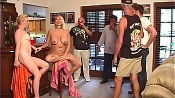Amateur wife with hunk friend and his sextoy in public