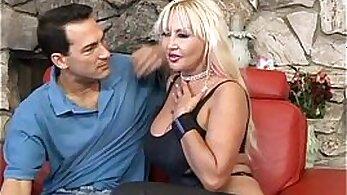 Big Tits MILF Swallows A Big Load Of Jizz