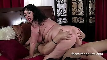 Chubby Brunette MILF Rides A Hard Cock