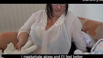 BBW boinked granny is mighty dry