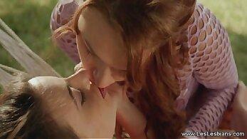 anime lesbian women kissing and sharing a blast of love - go hard
