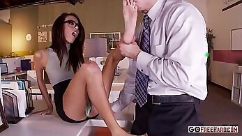 Cassidy Couture and Pat Sammie in Naughty Office