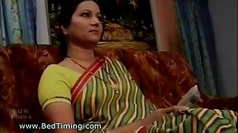 Busty Indian girl gets on her knees for you