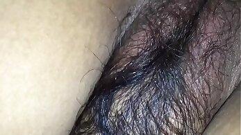 Huge black hairy ass wife