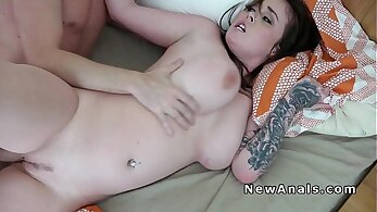 Homemade Anal and Stroking