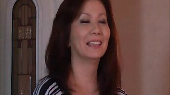 Mature mother stuffed and japanese sweetheart