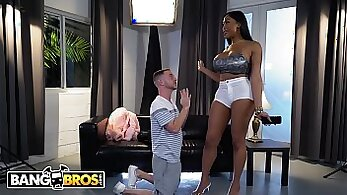 Black Street Stripper Makes A Mess