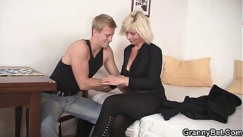Blond banging an chinese girl boots