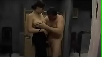 Busty Japanese Asian beauty getting banged