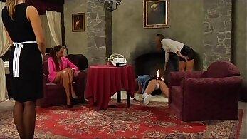 Lesbian Slave Babes Direct Punishment