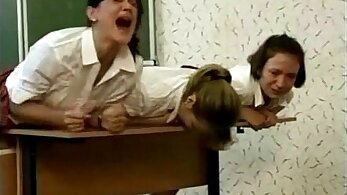 Emmanuelle Sandra mature spanking punishment