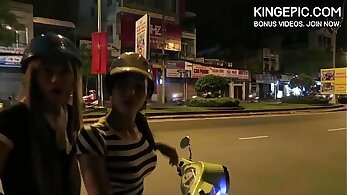 Thai booty porn actress almost caught
