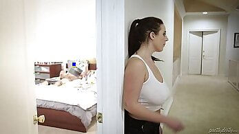 Big tited virgin Sophie Lynx screwed in her butthole
