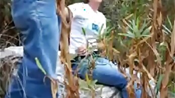 Egyptian stepsister fucked in public toying her pussy