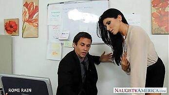 Babe office banging sex