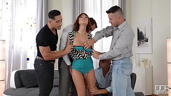 Porn Role Played in Husband Wife Gangbang