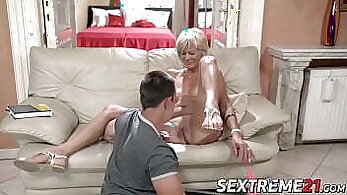 Beautiful young black prostitute sucking and riding
