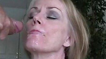 Amateur Cumshot Facial Compilation