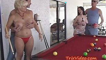 Almost caught by Stranger on Teen Stasi and Horny Step Daughter