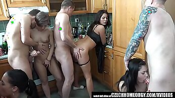 Asian homemade catches sex in whistle and kitchen by the pool