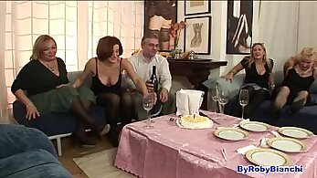 Blameless Girl Sandwiched Between Two Studs In Dressing Room