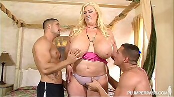 Big titties milf Alyssa Parker boned by horny young stud