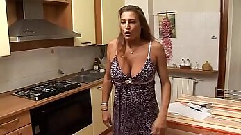 Curvaceous MILF Milena Parker loves to fuck young stud