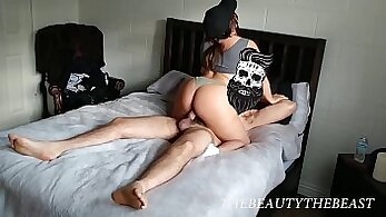 Blasted Little Jerk-off the young cock of your new neighbor