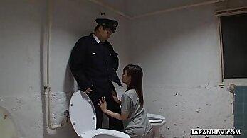 Asian milf bound sub banged in a dungeon
