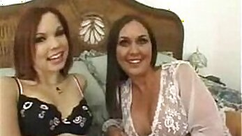 Blonde mom Valentina getting fisted and riding his cock