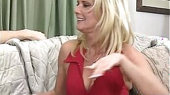Classy tattooed stepmom fingers and tastes brunette