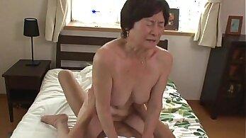 Curly granny Veronica stars gets her fresh slit fucked by stranger