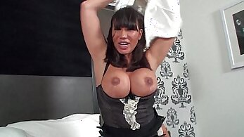 Ava Devine and Nadia Jaymes in Some Passionate Homemade Sex