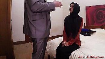 Arab girl doggystyle with big cock